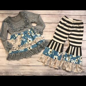 NWOT High End Size 2T Outfit